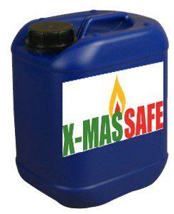 x-mas safe verpakking 5 liter brandvertragend impregneren behandeling